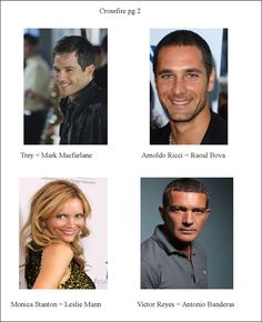 My cast choices for Crossfire series (page 2)