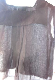 corey & co, black linen