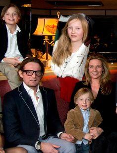 Prins Bernhard en gezin