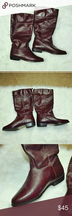 L.L. Bean Real Leather Boots In excellent condition! Worn only a few times. 100% real leather! L.L. Bean Shoes