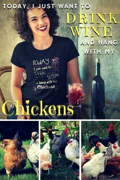 Many variations, styles and colors, check them out, Click The Image! #chickenlady