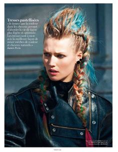 La Fibre Artistique for Vogue Paris September 2012 is Badass #hair trendhunter.com