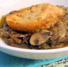 Bread Soup (Panade) with Onions, Chard, and Mushrooms | Recipe | Bread ...