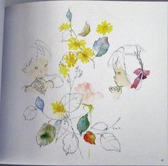 """Chihiro Iwasaki Art Illustrations Book Flowers """"Kawaii"""" Brand New Mint   eBay"""