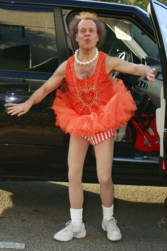 Richard Simmons in that tutu again . . . because he can, and we can't #PinPantone