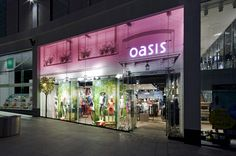 Oasis store at Trinity Centre by Dalziel and Pow, Leeds - UK