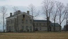 The Summit Mansion in Lockport, NY. Built in 1834, uninhabited since 1960, one of the legends surrounding it involves slaves going mad and killing their masters