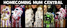 Homecoming Mum Central - great website to buy Mum parts