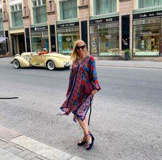 Summer outfit in Helsinki. #kaftan #espadrilles #redoutfit
