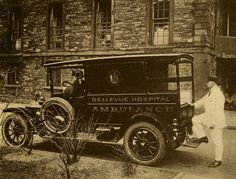 Bellevue ambulance, 1915