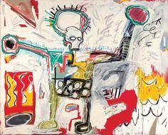 Jean-Michel Basquiat at the Guggenheim Bilbao Jean Michel Basquiat, Jm Basquiat, Basquiat Artist, Basquiat Paintings, Keith Haring, Andy Warhol, Norman Rockwell, Guggenheim Bilbao, Graffiti