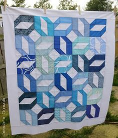Jennie's Threads: Baby quilts and other things, Tutorial on Patterns