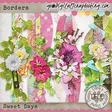Sweet Days Borders | April Mixology