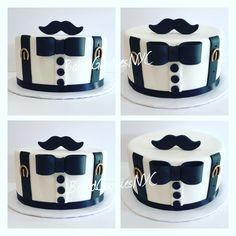 40th Birthday Cakes, Cake Creations, Let Them Eat Cake, Decorating Tips, Dog Bowls, Cake Ideas, Tart, Gentleman, Fox