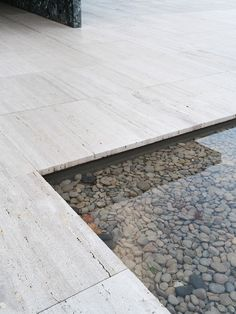 Barcelona Pavilion by Mies van der Rohe.  Shot by Alice Gabo for Cereal Magazine.