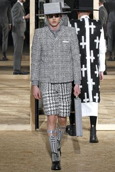 Thom Browne Fall 2013 Menswear Collection Slideshow on Style.com