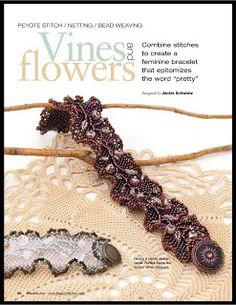 Vines and Flowers Bracelet Tutorial