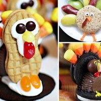 7 Turkey Treats - Thanksgiving Food Ideas