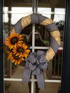 Simple Straw Wreath
