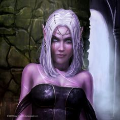Dark Elf Avatar by ~Graysun-D on deviantART