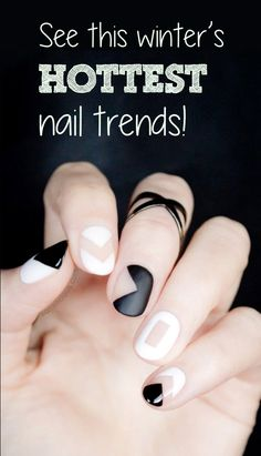 Negative space, matte finishes and a twist on the classic French Manicure are just some of the hottest nail trends for the winter of 2015-16. Learn what's hot and how to do it at fashionstylemag.com