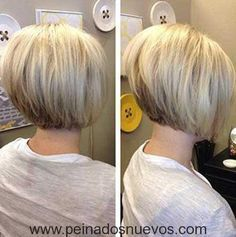 Graduated bob haircuts have always been the most unique and stylish looks for years. They're great for almost any hair type and graduated haircut can make a. Graduated Bob Hairstyles, Stacked Bob Hairstyles, Hairstyles Haircuts, Medium Hairstyles, Bob Haircuts For Women, Short Bob Haircuts, Short Stacked Haircuts, Popular Haircuts, Layered Haircuts