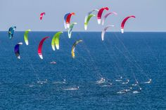 Sail-World.com : Light winds on day 2 of the Formula Kite Europeans + Video