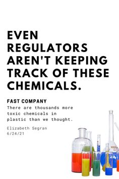 """There are two different camps of thought when it comes to the """"safety"""" of thousands of unregulated chemicals and NIAS (non intentionally added substances) in plastics: those that believe this is the U.S and surely there are safety measures in place that wouldn't allow harmful chemicals to be used in things like toys or food containers, and those that have learned it's the wild west out there when it comes to the number of unregulated chemicals in use today. So you can guess which camp we're in. Free School Supplies, Waste Solutions, Back To School Shopping, Food Containers, Zero Waste, Things To Come, Wisdom, Thoughts, Camps"""