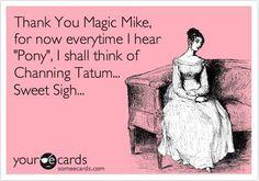 her #magicmike dream