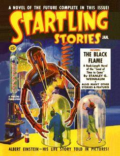 Startling Stories - January 1939