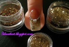 3D Nail Art: wedding nail art