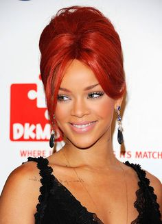 The Most Striking Redheads #red #hair #shade #beauty #rihanna