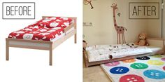 The perfect IKEA montessori bed — La Tela di Carlotta (english) — Medium                                                                                                                                                      More