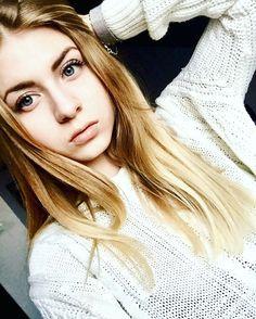 #blonde #girl #soft #makeup #young #woman #fashion