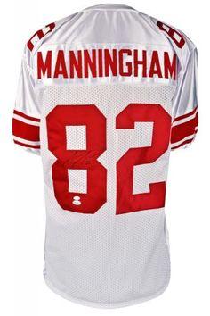 Mario Manningham Signed Custom Jersey - JSA - Sports Memorabilia #MarioManningham #NewYorkGiants #SportsMemorabilia