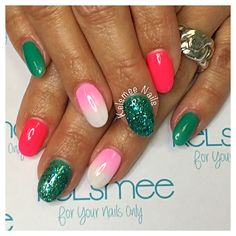 Summer nails acrylic with justgelpolish starburst turtle bay summer nails
