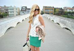 Sea Green skirt by @Anna Totten James {love}