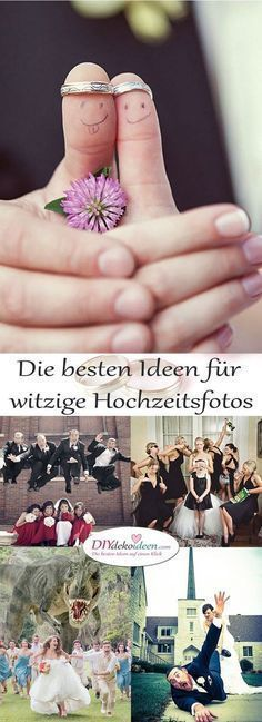 Funny ideas for a wedding photo shoot #wedding #photoshoot #hochzeit