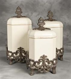 Home kitchen canisters on pinterest canister sets canisters and