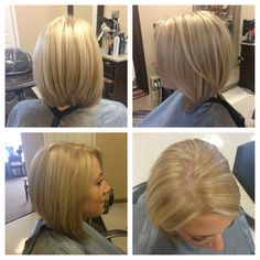 No bleach was used to achieve this. Short blonde hair