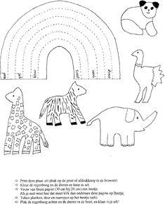 Ark van Noach - kleur volgens legende