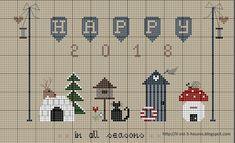 Cross Stitch Christmas Ornaments, Christmas Tree Pattern, Christmas Embroidery, Christmas Cross, Xmas, Cross Stitch Heart, Modern Cross Stitch, Cross Stitch Patterns, Cross Stitch Freebies