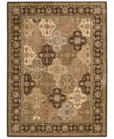 """Closeout! Nourison Area Rug, Somerset Collection ST63 Panel Multi 2'3"""" x 8' Runner Rug"""
