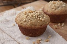 We put together 2 favorite flavors in one muffin and came up with Peanut Butter-Banana Muffins. Your family will be happy to find them in your bread basket! Organic Peanut Butter, Gluten Free Peanut Butter, Peanut Butter Recipes, Peanut Butter Banana, Banana Bread Recipes, Healthy Muffin Recipes, Healthy Muffins, No Bake Desserts, Dessert Recipes