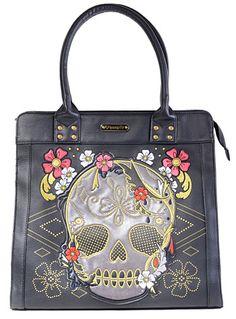 Blooming Death Tote Bag
