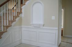 Staircase Design with Wall Moldings | MITRE CONTRACTING, INC.: Archways