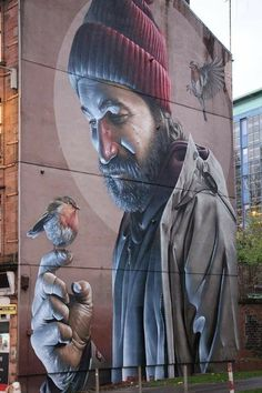 Street art Amazing Street Art, Have Fun, Wall Art, Canvas, Artist, Tela, Artists, Canvases, Wall Decor