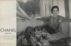 924717a300b A true inspiration. Making us all look very good since 1910 ... Vogue Photo Chanel StyleVintage ChanelCoco ChanelStyle IconsHappy BirthdayStyle ...
