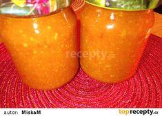 Rajčatová omáčka k masu recept - TopRecepty.cz Korn, Moscow Mule Mugs, Mango, Smoothie, Fruit, Tableware, Manga, Dinnerware, Tablewares