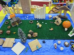 Like the fake grass and loose parts :-)